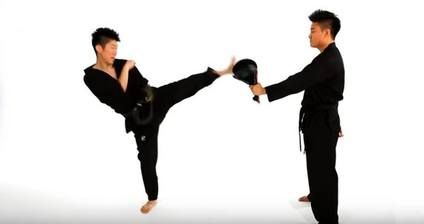 Learning the Tornado Roundhouse Kick