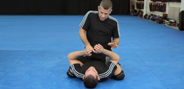 How to Do an Arm Bar from Mount