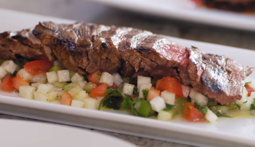 Chef Robert Irvine's Healthy Steak