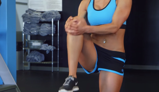 How to do a Knee to Chest Stretch Exercise