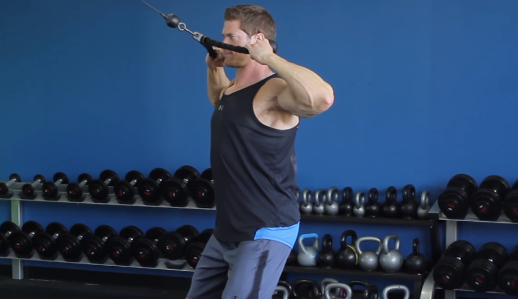 The Rope Face Pull Exercise