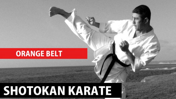 orange belt shotokan karate