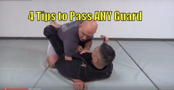 How to Pass any Guard in Brazilian Jiu Jitsu