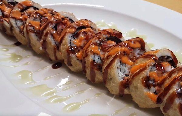 Sockeye Salmon Sushi Roll