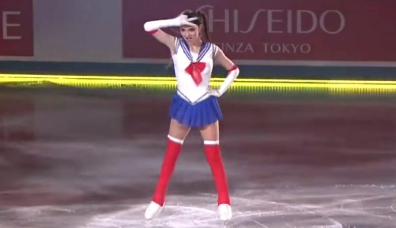 "Evgenia Medvedeva as ""Sailor Moon"""