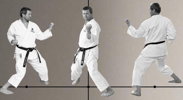 Hangetsu Dachi in Karate