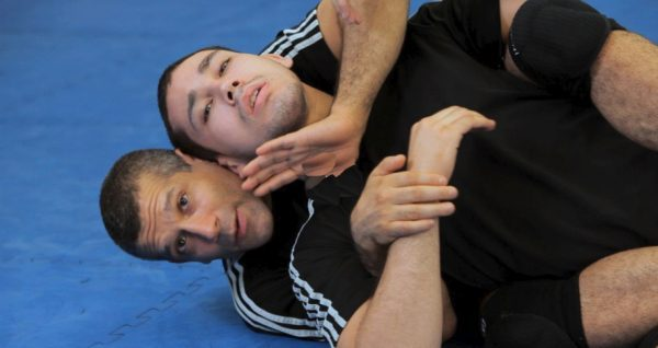 How to Do Triangle Choke from Back Control