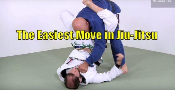 How to do the Easiest Move in Jiu-Jitsu