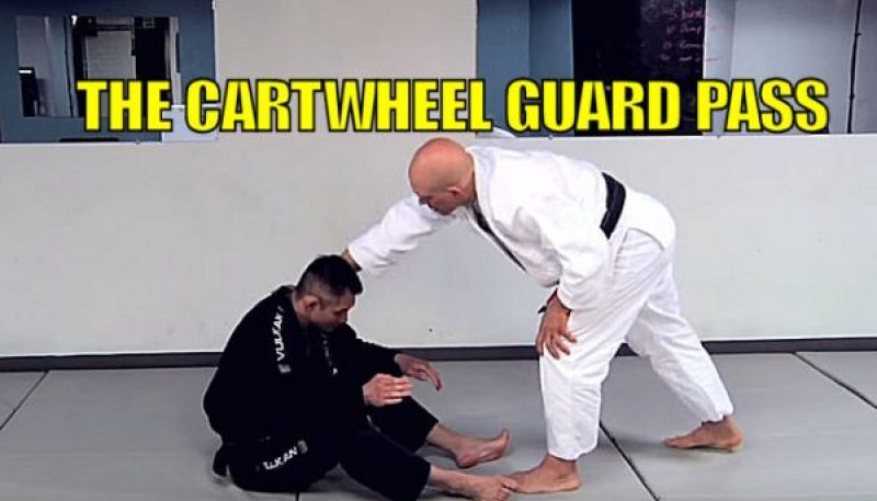 How To Do the Cartwheel Guard Pass
